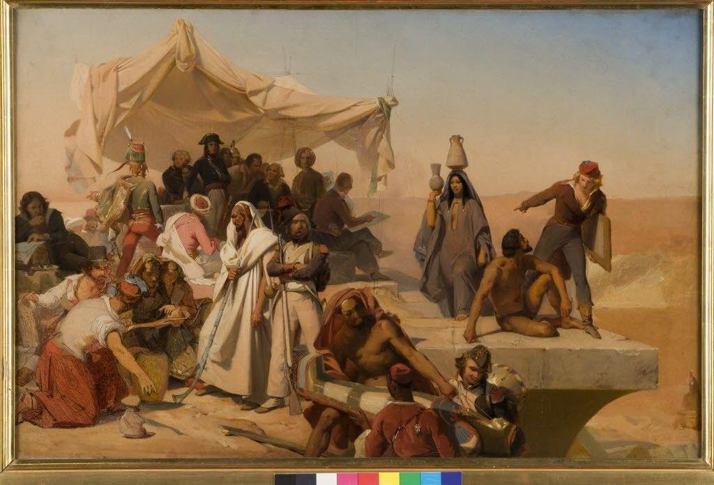 Oeuvre : Précisions - L'Expédition d'Egypte sous les ordres de Bonaparte (134) | Musée des Beaux-Arts d'Orléans