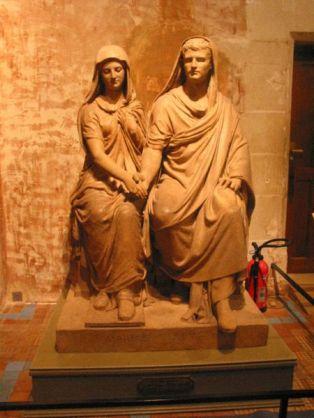 Statue ; Le Mariage Romain