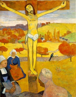 Christ Jaune, ancienne collection Gustave Fayet - Albright-Knox Art Gallery - Buffalo - USA