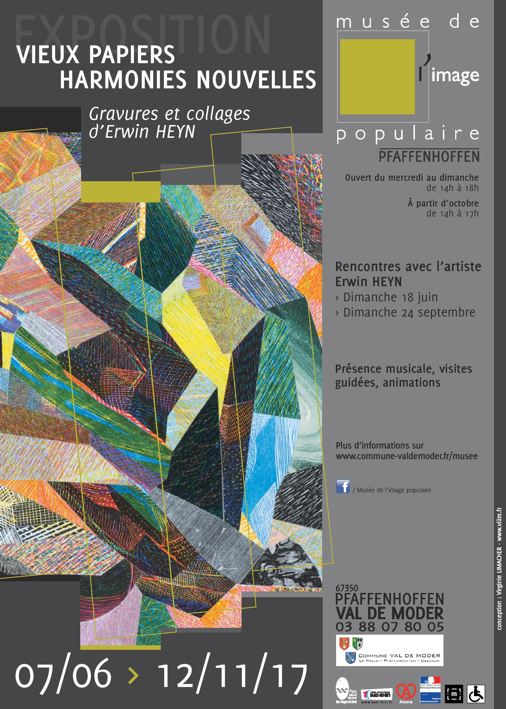 Gravures et collages Erwin HEYN 2017 ; © E. HEYN ; © MIPP