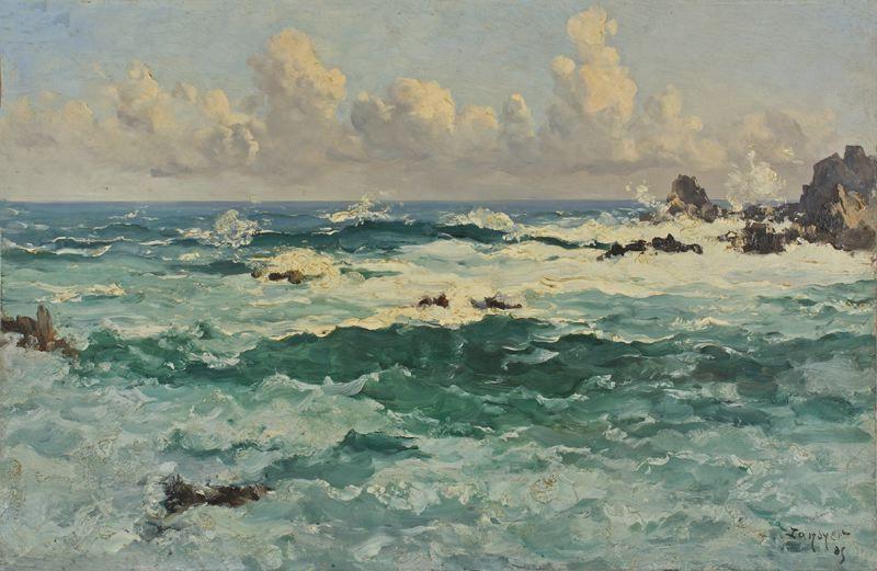 Peinture tableau montante entre le for Tableau sur la mer