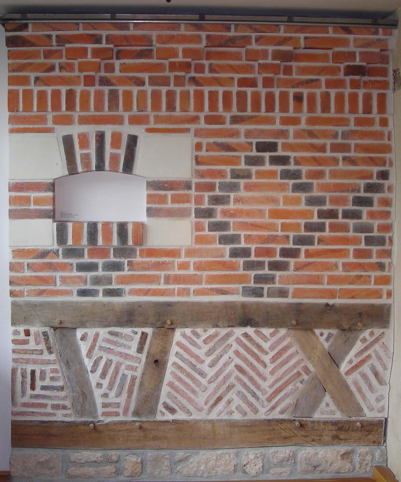 Exemples d'appareillages de briques