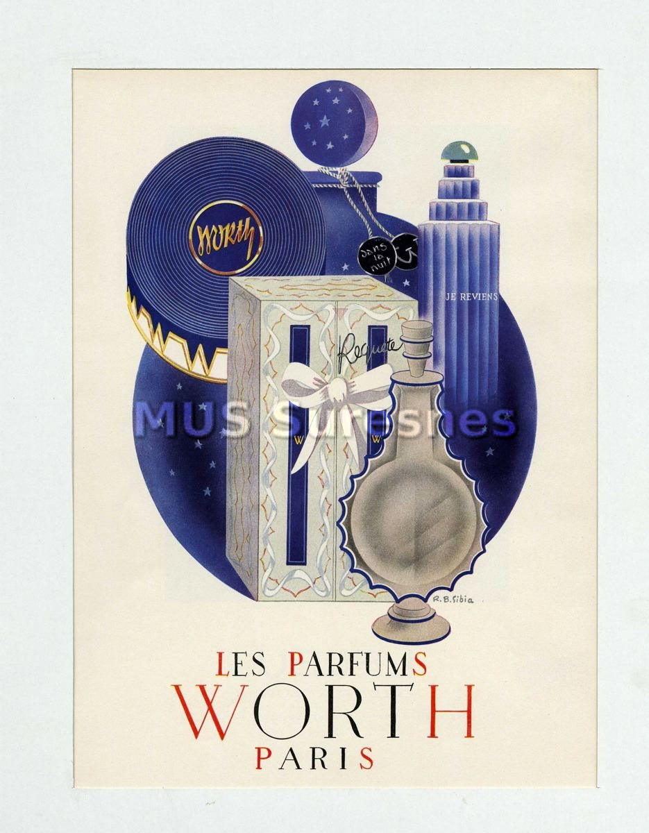 """Les parfums Worth Paris"""