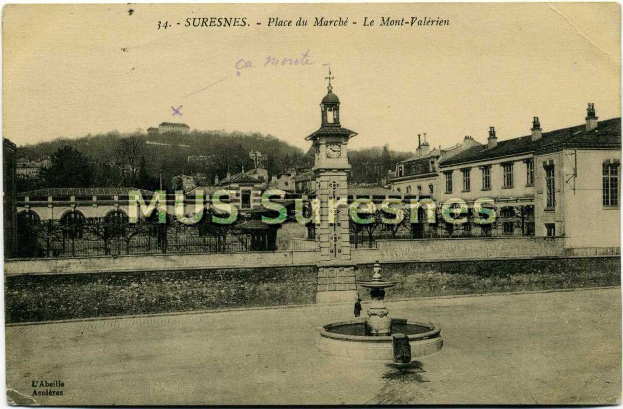 Poste Suresnes Hotel De Ville