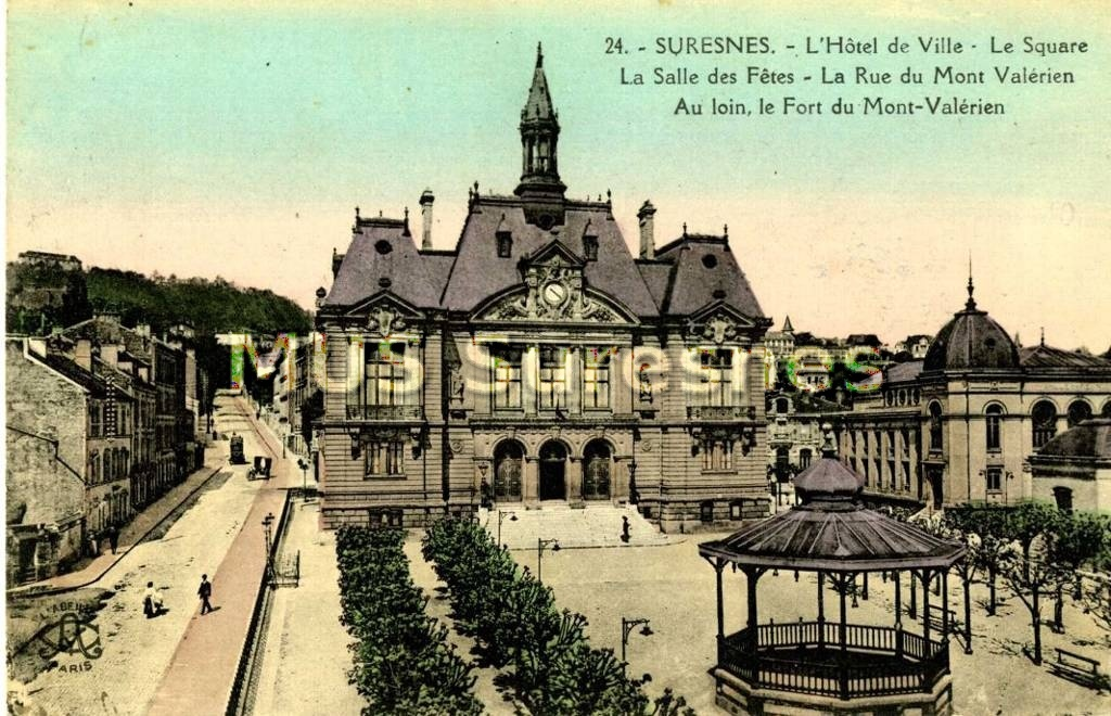 Hotel De Ville De Suresnes