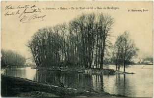 Suresnes - Bords de Seine - Ile de Rothschild