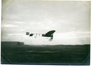 Vol d'un avion Blériot