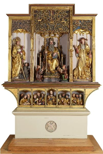 Retable d'Issenheim (sculptures)