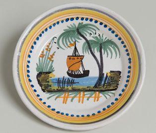 """assiette ; assiette ; Assiette dite """"Calotte"""" (titre usuel)(M 1389.2)"""