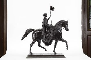 Réduction du monument équestre à la reine Victoria de Glasgow (009.2.1)