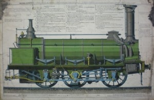 Dessin technique ; Machine locomotive (2006 4 50 ; Sans)