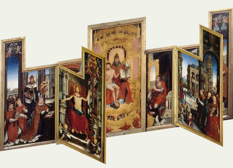 Bellegambe Jean, Polyptyque d'Anchin (Achevé vers 1515) - Douai, Musée de la Chartreuse